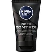 Nivea - Gesichtspflege - Men  Deep Control Gesicht & Bart Waschgel