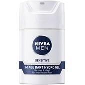Nivea - Cuidado facial - Nivea Men Gel para barba de 3 dias Sensitive Hydro Gel