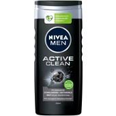 Nivea - Körperpflege - Nivea Men Active Clean Pflegedusche