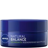 Nivea - Yövoide - Luomuarganöljy Uudistava Natural Balance -yövoide