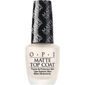 OPI - Podkladový a vrchní lak - Matte Top Coat