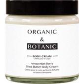 Organic & Botanic - Amazonian Berry - Shea Butter Body Cream