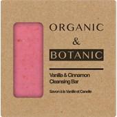 Organic & Botanic - Körperpflege - Vanilla+Cinnamon Cleansing Bar