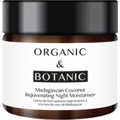 Organic & Botanic - Madagascan Coconut - Rejuvenating Night Moisturiser