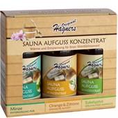 Original Hagners - Spezialpflege - Saunavergnügen