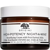 Origins - Kosmetyki przeciwzmarszczkowe - High-Potency Night-A-Mins Resurfacing Cream With Fruit-Derived AHAs