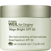 Origins - Soin hydratant - Dr. Andrew Weil for Origins Mega-Bright Skin Tone Correcting Oil-Free Moisturizer SPF 30