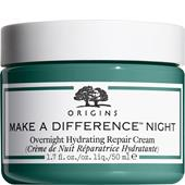 Origins - Moisturising care - Make A Difference Overnight Hydrating Repair Cream