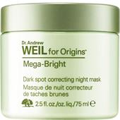 Origins - Masken - Dr. Andrew Weil for Origins Mega-Bright Dark Spot Correcting Night Mask