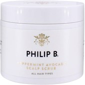 Philip B - Treatment - Peppermint Avocado Scalp Scrub