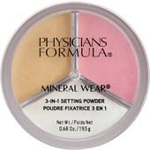Physicians Formula - Powder - 3 In 1 Setting Powder