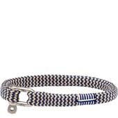 Pig & Hen - Nautische Armbänder - Navy-Sand | Silver Vicious Vik