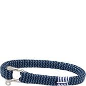 Pig & Hen - Nautische Armbänder - Navy-Violet Blue | Silver Vicious Vik