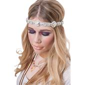 Pink Pewter - Hair accessories - Kelli White/Ab Crystal
