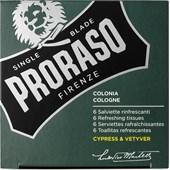 Proraso - Cypress & Vetyver - Erfrischungstücher