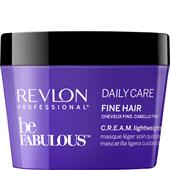 Revlon Professional - Be Fabulous - Daily Care Fine Hair C.R.E.A.M. Lightweight Mask
