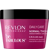 Revlon Professional - Be Fabulous - Daily Care Normal/Thick Hair C.R.E.A.M. Mask