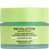 Revolution Skincare - Augenpflege - Cooling Boost Cucumber Eye Gel