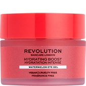 Revolution Skincare - Augenpflege - Hydrating Boost Watermelon Eye Gel