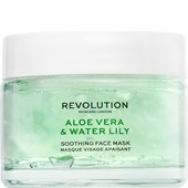Revolution Skincare - Masken - Aloe Vera & Water Lily Soothing Face Mask