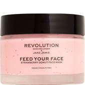 Revolution Skincare - Masken - Feed Your Face Strawberry Donut Face Mask