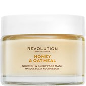 Revolution Skincare - Masks - Honey & Oatmeal Nourish & Glow Face Mask