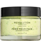 Revolution Skincare - Masken - Jake-Jamie Feed Your Face Avocado Face Mask