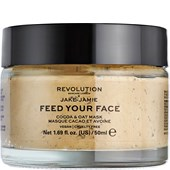 Revolution Skincare - Masks - Jake-Jamie Feed Your Face Cocoa & Oat Mask