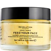 Revolution Skincare - Masken - Jake-Jamie Feed Your Face Coconut Mango & Chia Seed Mask