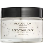 Revolution Skincare - Masks - Jake-Jamie Feed Your Face Dragon Fruit Face Mask