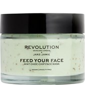 Revolution Skincare - Masken - Jake-Jamie Feed Your Face Mint Choc Chip Face Mask