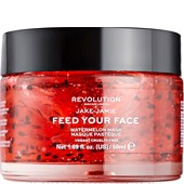Revolution Skincare - Masken - Jake-Jamie Feed Your Face Watermelon Mask