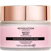 Revolution Skincare - Moisturiser - Mattify Boost Niacinamide Mattifying Cream