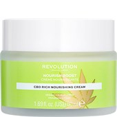 Revolution Skincare - Moisturiser - Nourish Boost CBD Rich Nourishing Cream