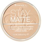 Rimmel London - Ansigt - Stay Matte Pressed Powder
