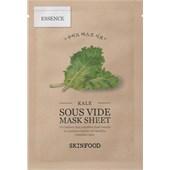 SKINFOOD - Masken - Kale Mask Sheet