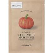 SKINFOOD - Masken - Pumpkin Mask Sheet