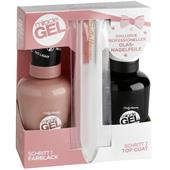 Sally Hansen - Miracle Gel - Duo Pack + Glas-Nagelfeile