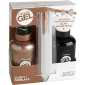 Sally Hansen - Miracle Gel - Duo pack + glas-nagelvijl
