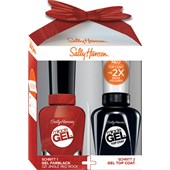 Sally Hansen - Miracle Gel - Miracle Gel Nail Varnish 14.7 ml + Miracle Gel Top Coat 14.7 ml