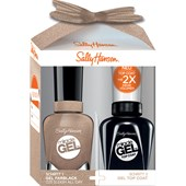 Sally Hansen - Miracle Gel - Vernis à ongles Miracle Gel 14,7 ml + Miracle Gel Top Coat 14,7 ml
