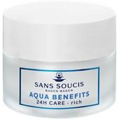 Sans Soucis - Aqua Benefits - Reichhaltige 24h Pflege Creme