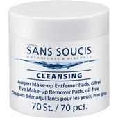 Sans Soucis - Puhdistus - Eye Make-up Remover Pads oil-free