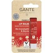 Sante Naturkosmetik - Facial care - Lip Balm Organic Pomegranate & Marula