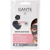Sante Naturkosmetik - Facial care - Sensitive Black Peeling