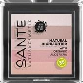 Sante Naturkosmetik - Highlighter - Natural Highlighter