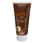 Sante Naturkosmetik - Man care - Homme II Shower Gel Body & Hair 2 in 1 Bio-Caffeine & Açai