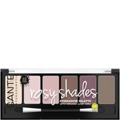 Sante Naturkosmetik - Lidschatten - Eyeshadow Palette Rosy Shades