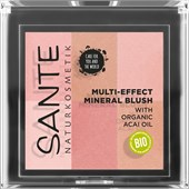 Sante Naturkosmetik - Rouge & Bronzer - Multi-Effect Mineral Blush