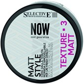 Selective Professional - NOW Next Generation - Matt Style Soft-Hold Remodelling Wax